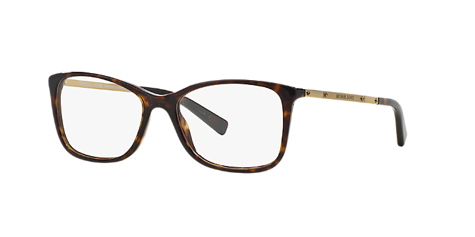 736a95bf815 MK4016 ANTIBES  Shop Michael Kors Tortoise Rectangle Eyeglasses at ...