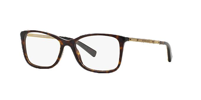 82f472141f MK4016 ANTIBES  Shop Michael Kors Tortoise Rectangle Eyeglasses at ...