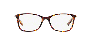 e1fa15478b71 MK4016 ANTIBES: Shop Michael Kors Tortoise Rectangle Eyeglasses at ...