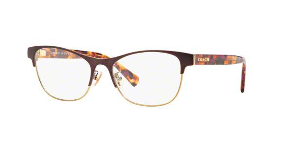 f3b0d7e700 HC5074  Shop Coach Pink Purple Square Eyeglasses at LensCrafters