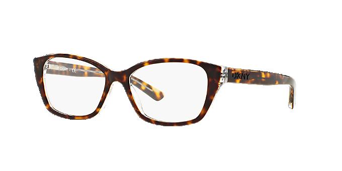 DY4668: Shop DKNY Tortoise Cat Eye Eyeglasses at LensCrafters