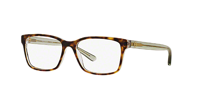 1585b58e400 TY2064  Shop Tory Burch Tortoise Square Eyeglasses at LensCrafters
