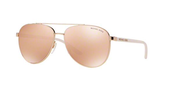 4a99b6123438 MK5007 59 HVAR: Shop Michael Kors Pink/Purple Pilot Sunglasses at ...