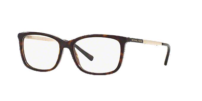 MK4030 VIVIANNA II: Shop Michael Kors Tortoise Rectangle Eyeglasses ...