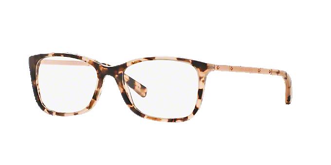 MK4016 ANTIBES: Shop Michael Kors Tortoise Rectangle Eyeglasses at ...
