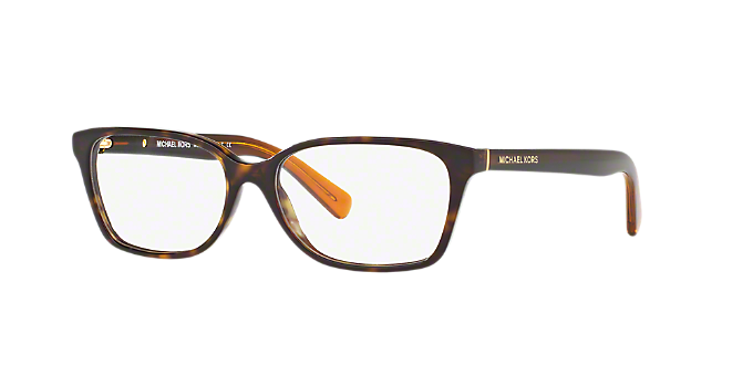 610f1dd0c08 MK4039 INDIA  Shop Michael Kors Tortoise Rectangle Eyeglasses at ...