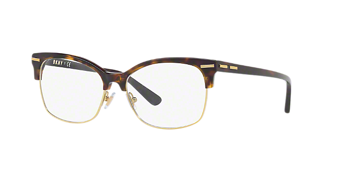 DY5655: Shop DKNY Tortoise Rectangle Eyeglasses at LensCrafters