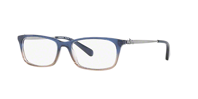 6c14924c5a HC6110  Shop Coach Blue Rectangle Eyeglasses at LensCrafters