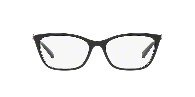 8eb27b0bd9b HC6107  Shop Coach Black Rectangle Eyeglasses at LensCrafters