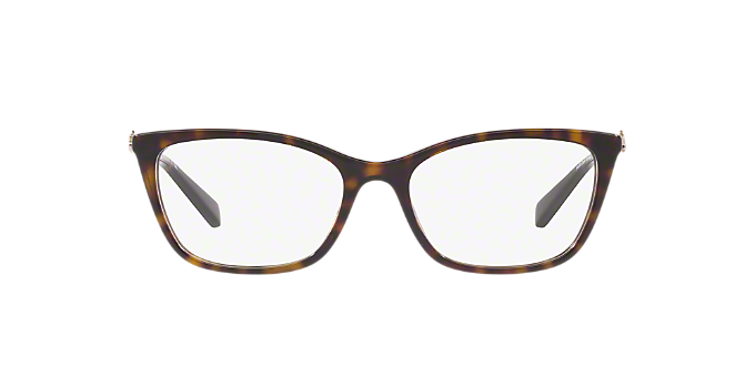 3185b2ae365 HC6107  Shop Coach Tortoise Rectangle Eyeglasses at LensCrafters