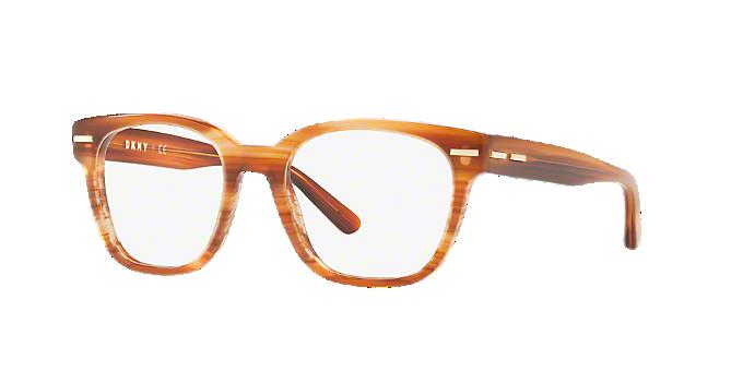DY4679: Shop DKNY Brown/Tan Square Eyeglasses at LensCrafters