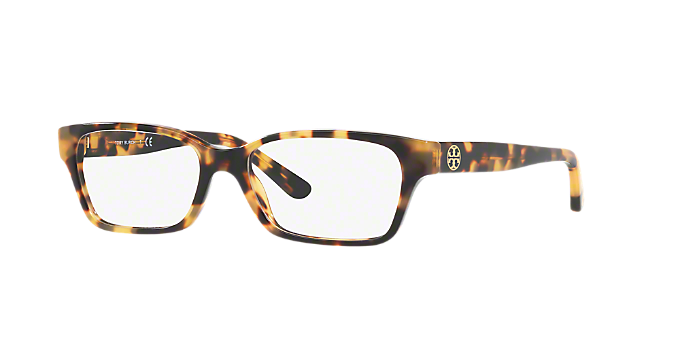 2d348cd2efdb TY2080: Shop Tory Burch Tortoise Rectangle Eyeglasses at LensCrafters
