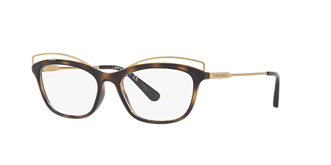 9ccecaa0cc TY4004  Shop Tory Burch Tortoise Butterfly Eyeglasses at LensCrafters