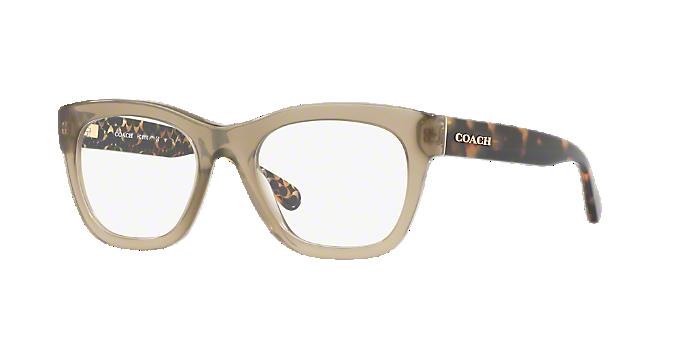 9ba508d6917e HC6115  Shop Coach Green Eyeglasses at LensCrafters