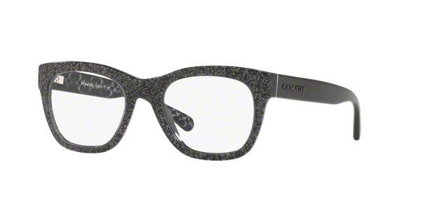8de9156d2675 HC6115  Shop Coach Black Square Eyeglasses at LensCrafters