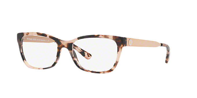 ca2234eb8804 MK4050 MARSEILLES  Shop Michael Kors Tortoise Square Eyeglasses at  LensCrafters