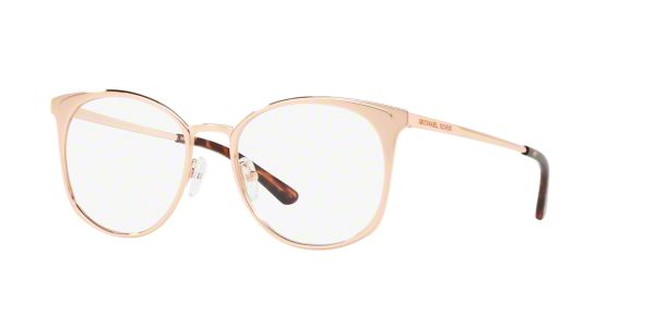 ddbcc9e4e27 MK3022 NEW ORLEANS  Shop Michael Kors Pink Purple Round Eyeglasses at  LensCrafters