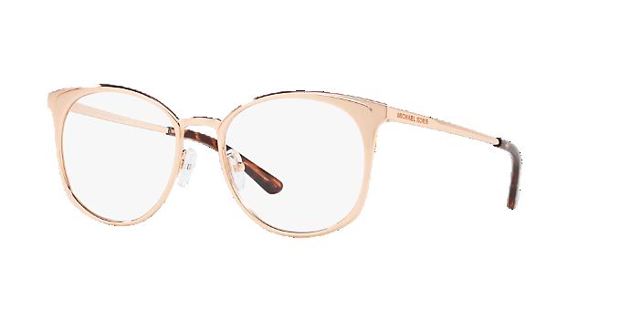 404215b783f MK3022 NEW ORLEANS  Shop Michael Kors Pink Purple Round Eyeglasses ...
