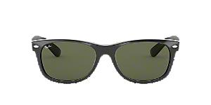 RB2132 58 NEW WAYFARER  Shop Ray-Ban Black Square Sunglasses at ... 7ed7d51b995c