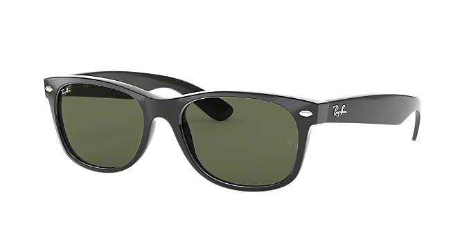 ab8fea24e9 RB2132 55 NEW WAYFARER  Shop Ray-Ban Black Square Sunglasses at ...