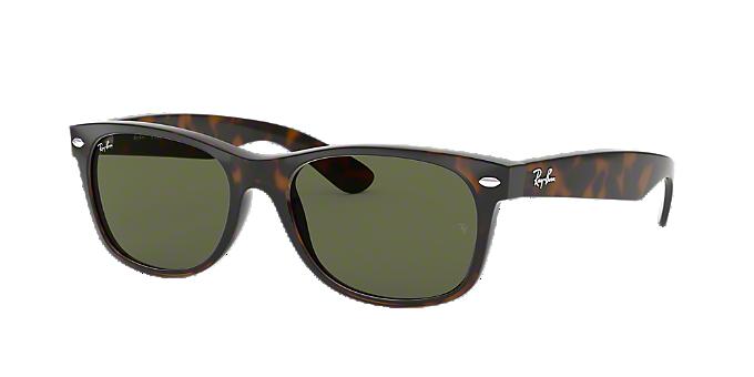 61d22d63c9f RB2132 55 NEW WAYFARER  Shop Ray-Ban Tortoise Square Sunglasses at ...
