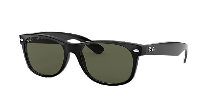 4d8a609a5 RB2132 55 NEW WAYFARER: Ver Gafas de sol cuadradas Ray-Ban Black en ...