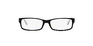 RX5114  Shop Ray-Ban Black Rectangle Eyeglasses at LensCrafters 25fff02eec