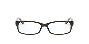 13c48d7063a RX 5187  Shop Ray-Ban Black Rectangle Eyeglasses at LensCrafters