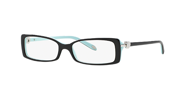 TF2035: Shop Tiffany Black Rectangle Eyeglasses at LensCrafters