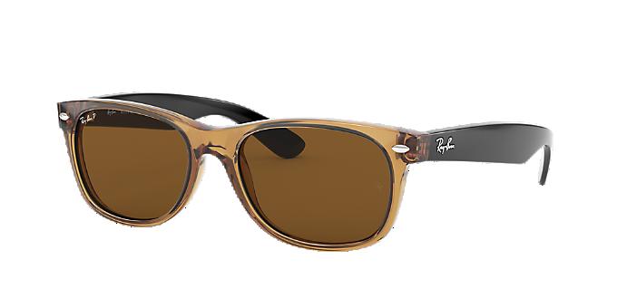 a0b2afa7c RB2132 55: ver Gafas de sol cuadradas Ray-Ban en marrón/tostado en ...