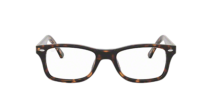 781dde8401e RX5228  Shop Ray-Ban Brown Tan Square Eyeglasses at LensCrafters