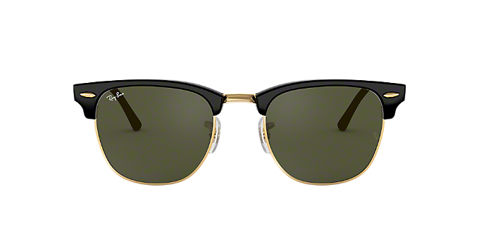 9343cfaa58 RB3016 49 CLUBMASTER  Shop Ray-Ban Black Square Sunglasses at ...