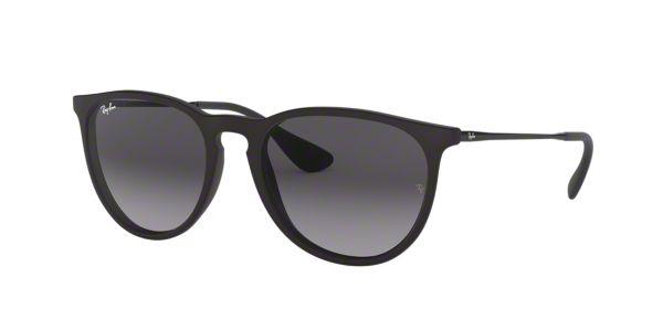 6266692efc RB4171 54 ERIKA  Shop Ray-Ban Black Pilot Sunglasses at LensCrafters