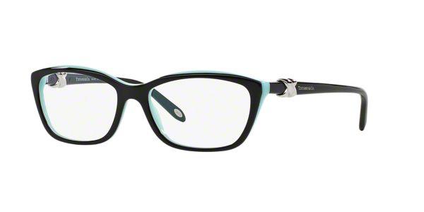 40f6e45baf1 TF2074  Shop Tiffany Black Cat Eye Eyeglasses at LensCrafters