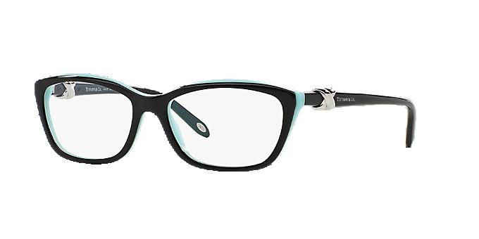 97cadc948c5 TF2074  Shop Tiffany Black Cat Eye Eyeglasses at LensCrafters