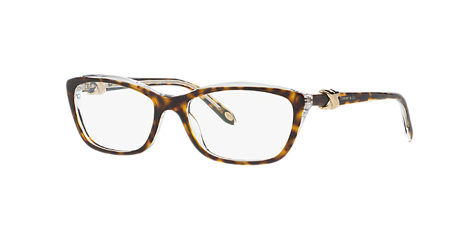 8a544b808b81 TF2074  Shop Tiffany Tortoise Cat Eye Eyeglasses at LensCrafters