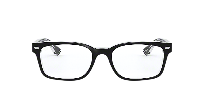 3566e67325e RX5286  Shop Ray-Ban Black Square Eyeglasses at LensCrafters