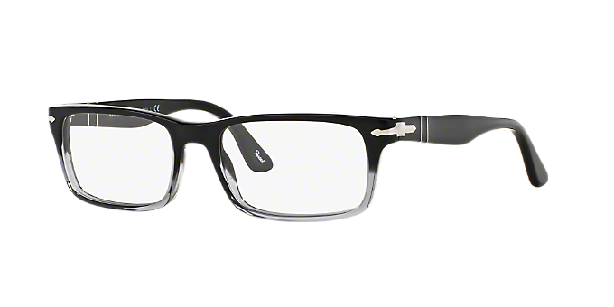 4d5ee0c24ca PO3050V  Shop Persol Black Rectangle Eyeglasses at LensCrafters