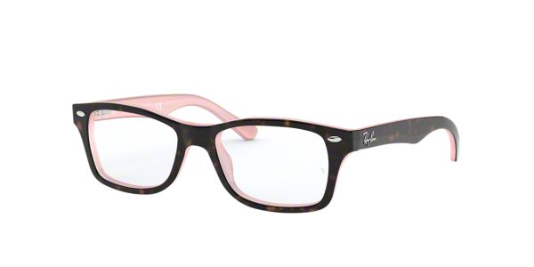 ff0dbf85eac RY1531  Shop Ray-Ban Jr Tortoise Pilot Eyeglasses at LensCrafters