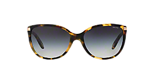 c0517084528 RA5160  Shop Ralph Tortoise Cat Eye Sunglasses at LensCrafters