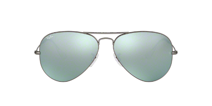 93f83f3e8f5 RB3025 58 ORIGINAL AVI  Shop Ray-Ban Silver Gunmetal Grey Pilot ...