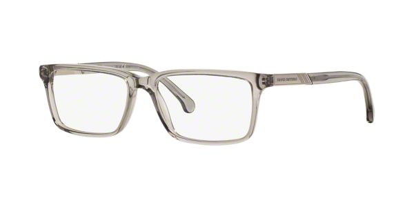 7a32549e310e BB2019: Shop Brooks Brothers Silver/Gunmetal/Grey Rectangle Eyeglasses at  LensCrafters