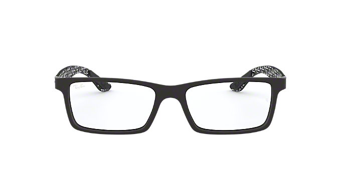 92605ec214 RX8901  Shop Ray-Ban Black Rectangle Eyeglasses at LensCrafters