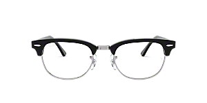 cc134abcd58 RX5154  Shop Ray-Ban Clear White Square Eyeglasses at LensCrafters