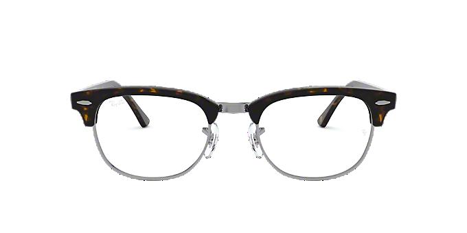 ba76921fa1 RX5154 CLUBMASTER: Ver Espejuelos cuadrados Ray-Ban Tortoise en LensCrafters