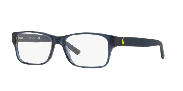 486c6f310d PH2117  Shop Polo Ralph Lauren Blue Rectangle Eyeglasses at LensCrafters