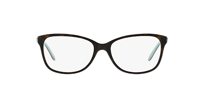 603ebb512ea8 TF2097  Shop Tiffany Tortoise Square Eyeglasses at LensCrafters