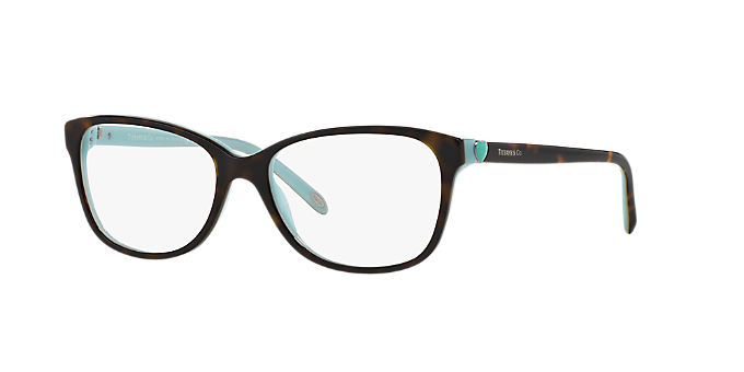 TF2097: Shop Tiffany Tortoise Square Eyeglasses at LensCrafters