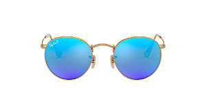 RB3447 50 ROUND METAL  Shop Ray-Ban Gold Panthos Sunglasses at ... 7e7da348aab2