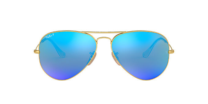 14c03fb570 RB3025 58 ORIGINAL AVI: Ver Gafas de sol estilo aviador Ray-Ban Gold en  LensCrafters